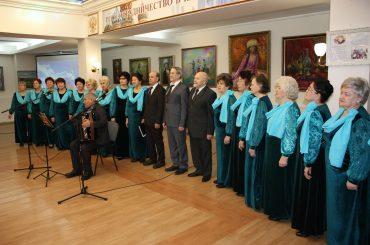 Концерт Хора ветеранов к Международному женскому дню