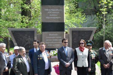 Мемориальные мероприятия в Алма-Ате