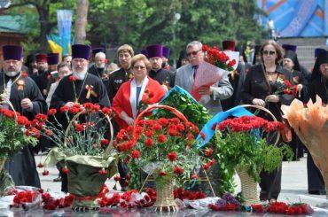 Мемориальная церемония в Алма-Ате