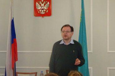 Выступление Алексея Любжина в Генеральном Консульстве в Алма-Ате