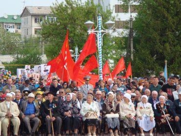 Празднование Дня Победы в Уральске