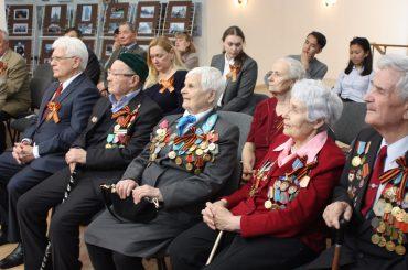 Встреча с ветеранами в канун Дня Великой Победы