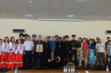 Встреча казачьей молодежи в Алма-Ате