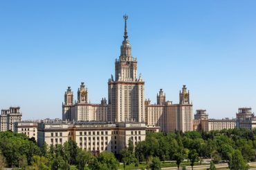 МГУ — лучший вуз Восточной Европы и Центральной Азии