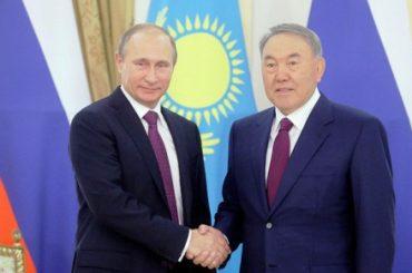 Назарбаев и Путин обсудили итоги встречи в Минске