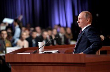 В России начали собирать подписи в поддержку самовыдвижения Владимира Путина