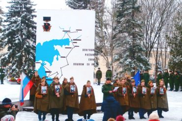 Колонна «Бессмертного полка» прошла по Ростову-на-Дону в честь 75-летия освобождения города