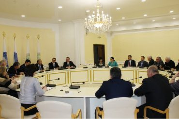 Заседание совета общественных организаций соотечественников в Уральске