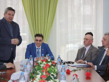 Встреча в Астане с сотрудниками Пискарёвского Мемориального комплекса