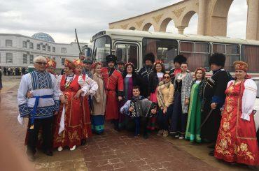 Праздничный концерт посвященный Дню единства народа Казахстана