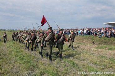 Российские соотечественники принимают участие в реконструкции боёв Первой мировой войны