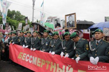 Бессмертный полк в Казахстане: мы не должны забывать их имена