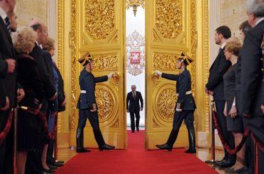 Полная запись инаугурации Путина в Кремле