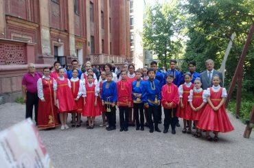 Детский оркестр русских народных инструментов «РУССКИЕ УЗОРЫ»