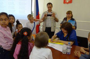 День защиты детей в Генеральном Консульстве России в Алма-Ате