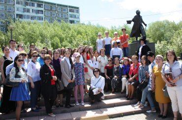 Конкурс чтецов «Мой Пушкин» прошел в Астане