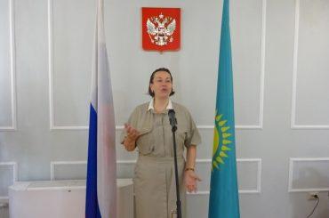 Приём в День русского языка в Генеральном Консульстве Российской Федерации в Алма-Ате