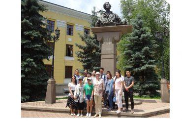 День русского языка в Алма-Ате