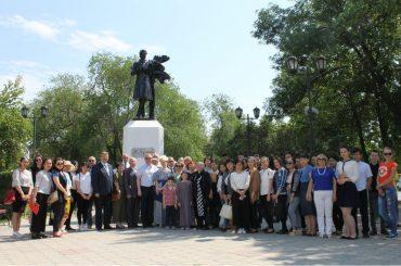 В Уральске широко отметили день рождения А.С.Пушкина и День русского языка
