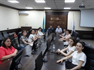 Преподаватели факультета русской филологии из Атырау планируют установить гуманитарные связи с российскими ВУЗами