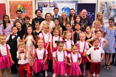 Международный день детского творчества в Лондоне: благотворительный гала-концерт «Каждый ребенок — художник»