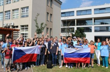 Первая Международная аэрокосмическая летняя школа «Вместе в космос» прошла в чешском городе Либерец