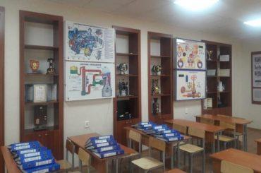 В Атырау спонсор оборудовал класс в колледже