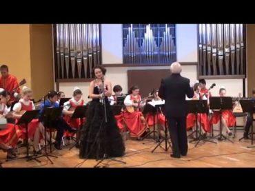 Концертный оркестр акима г. Алматы и детский оркестр «Русские узоры» ДШ №3