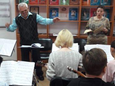 Подготовка к Рождественскому концерту