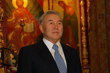 Президент Республики Казахстан Н.А. Назарбаев поздравил казахстанцев с Рождеством Христовым