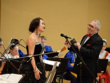 Концерт в Казахской национальной консерватории имени Курмангазы