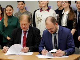 Представительство Россотрудничества в Казахстане и СПбГУ подписали соглашение о сотрудничестве