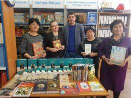 Международный день книгодарения отметили в Алматы