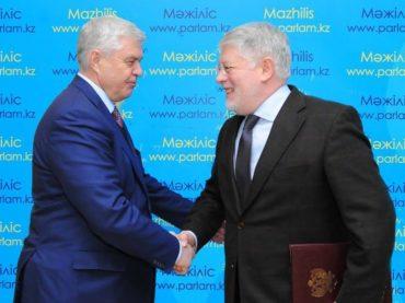 В Мажилисе обсудили российско-казахстанское сотрудничество в гуманитарной сфере