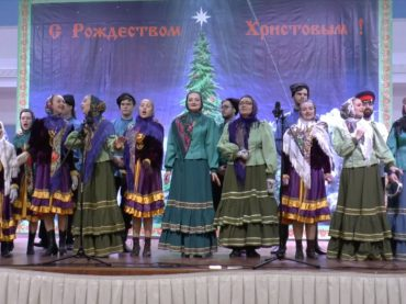 Рождественские гуляния в Астане. 13.01.2019.