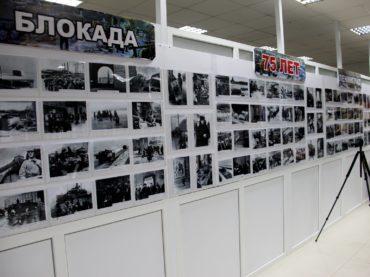 Ученики школы №12 города Атырау посетили выставку «Непокорённый город».