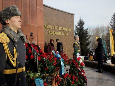 В Астане почтили память воинов-интернационалистов