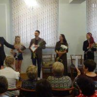 Творческий вечер актёров в Алматы
