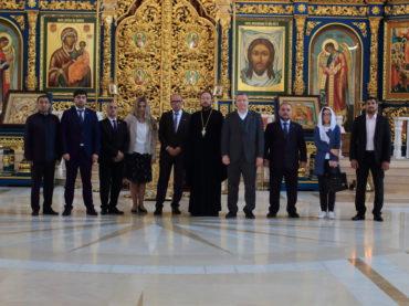 Участники делегации парламентской группы дружбы «Армения-Казахстан» посетили успенский кафедральный собор