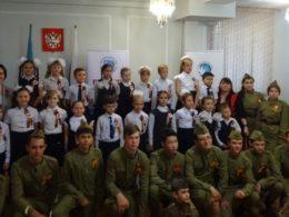 Встреча с военно-патриотическим отрядом «Контингент» в Алматы