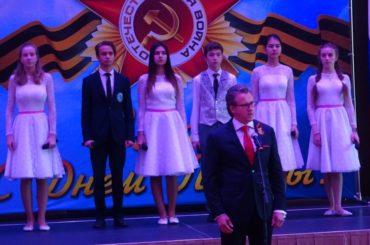 Торжественный приём по случаю Дня Победы в Алматы