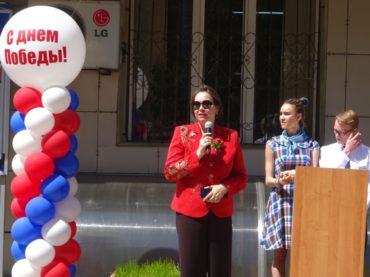 В Алматинском филиале Санкт-Петербургского гуманитарного университета профсоюзов отметили День Победы