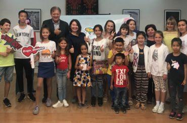 Школьники Нур-Султана с удовольствием изучают русский язык даже летом