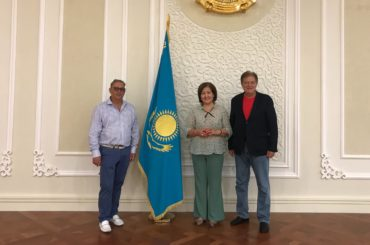 Инновационное сотрудничество в Казахстане выходит на новый уровень