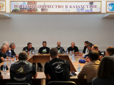 Участники международного мотопробега посетили Нур-Султан