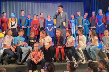 В Шымкенте состоялось выступление московского Детского музыкального театра юного актёра