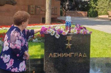 В день начала блокады Ленинграда алматинцы вспоминают о жертвах Великой Отечественной войны