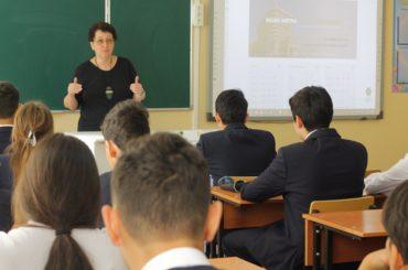 Столичным школьникам рассказали о функционировании финансовых рынков
