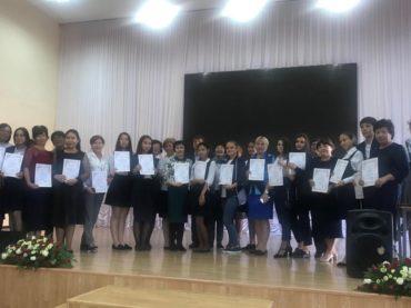 Конкурс чтецов «И вечен Лермонтова гений» в Атырау