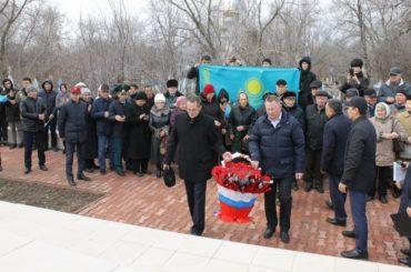 В Уральске к 75-летию Великой Победы прошла акция «Дорога памяти»